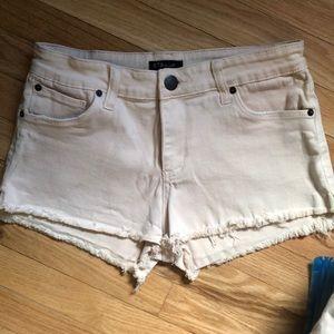 Pale Pink STS Blue Denim Shorts size 27